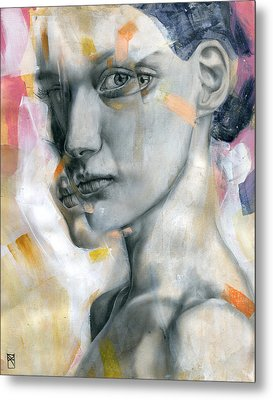Unbearable Lightness Metal Print by Patricia Ariel