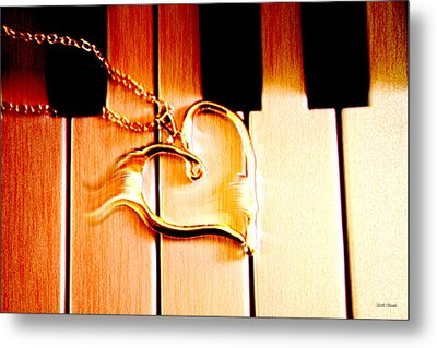 Unchained Melody Metal Print by Linda Sannuti