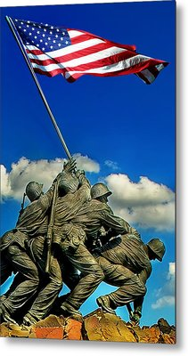 Uncommon Valor Metal Print