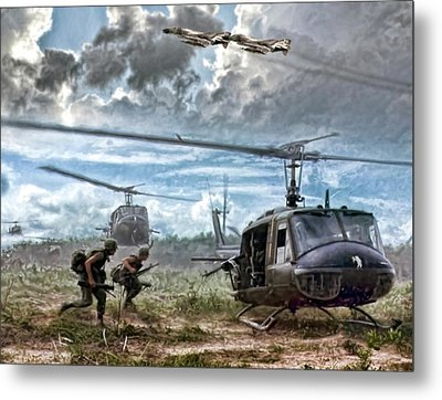 Uncommon Valor Metal Print by Peter Chilelli