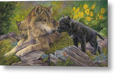 Unconditional Love Metal Print by Lucie Bilodeau