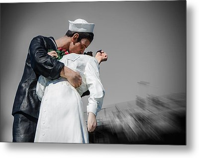 Unconditional Surrender 1 Metal Print