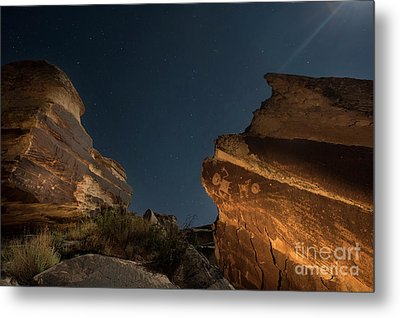 Metal Print featuring the photograph Uncounted Years Under The Moonlight by Melany Sarafis