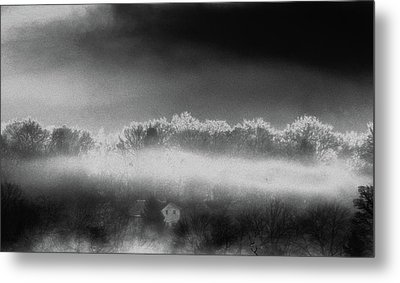 Metal Print featuring the photograph Under A Cloud by Steven Huszar