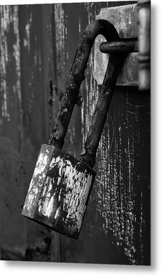 Under Lock And Key II Metal Print by Off The Beaten Path Photography - Andrew Alexander