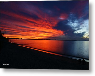 Under The Blood Red Sky Metal Print