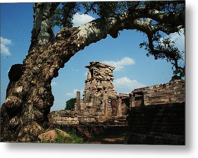 Under The Bodhi Tree Metal Print by Mohammed Nasir