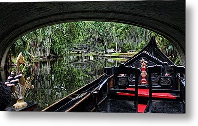 Under The Bridge Metal Print by Judy Vincent