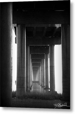 Under The Bridge Metal Print by Melissa Wyatt