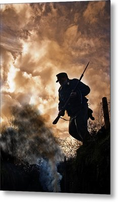 Under The Burning Sky Metal Print by Mark H Roberts