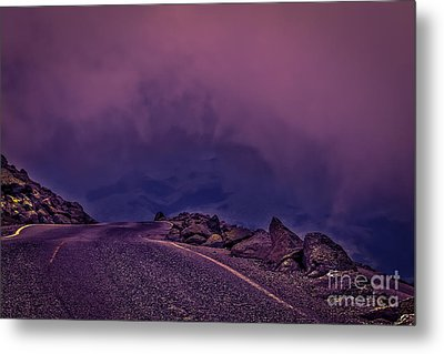 Under The Clouds 2 Metal Print
