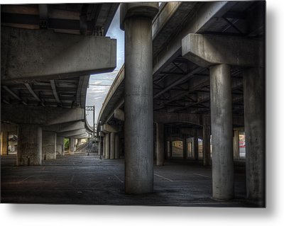 Under The Overpass I Metal Print
