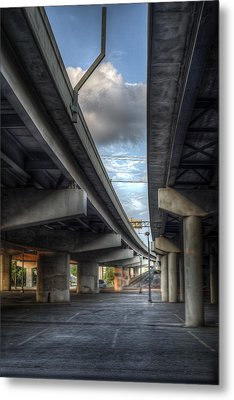 Under The Overpass II Metal Print