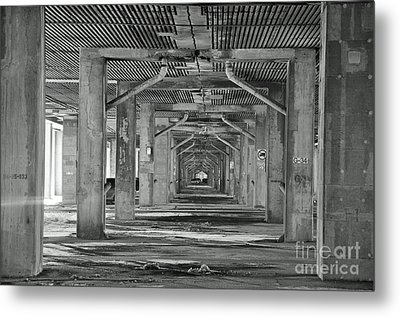Under The Overpass Metal Print by Reb Frost