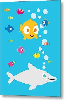 Under The Sea Metal Print by Pbs Kids