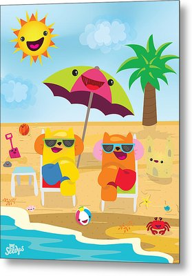 Under The Sun Metal Print by Seedys World