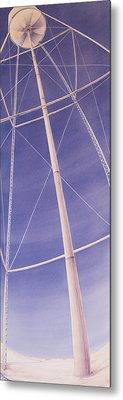 Under The Water Tower Metal Print