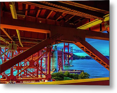 Underbelly Metal Print by Phil Fitzgerald