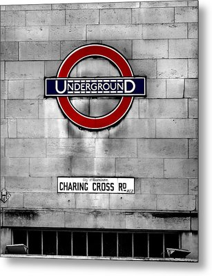 Underground Metal Print by Mark Rogan