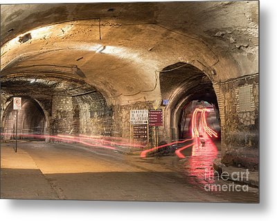 Underground Tunnels In Guanajuato, Mexico Metal Print by Juli Scalzi