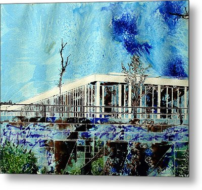 Underpass Metal Print by Cathy S R Read