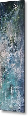 Metal Print featuring the painting Underwater by Diana Bursztein