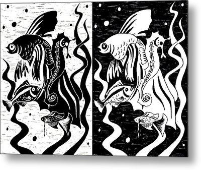 Underwater Fish Metal Print by Svetlana Sewell