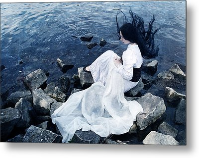 Underwater Metal Print by Cambion Art