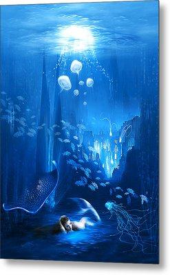 Underwater World Metal Print by Svetlana Sewell