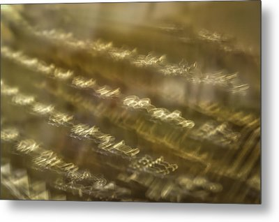 Underwood Abstract Metal Print by Irwin Seidman