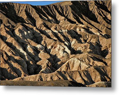 Unearthly World - Death Valley's Badlands Metal Print by Christine Till