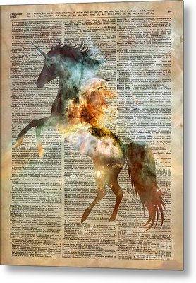 Unicorn Carina Nebula Metal Print