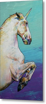 Unicorn Metal Print by Michael Creese