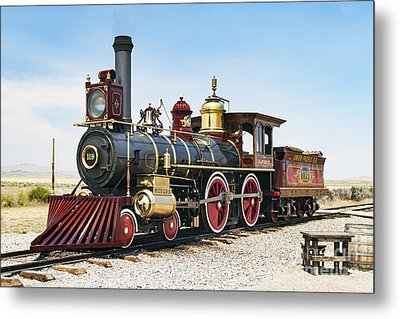 Union Pacific 119 Metal Print by Rick Pisio