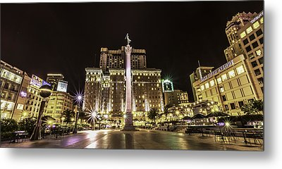 Union Square Metal Print by Phil Fitzgerald
