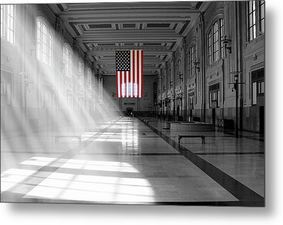 Union Station 2 - Kansas City Metal Print by Mike McGlothlen