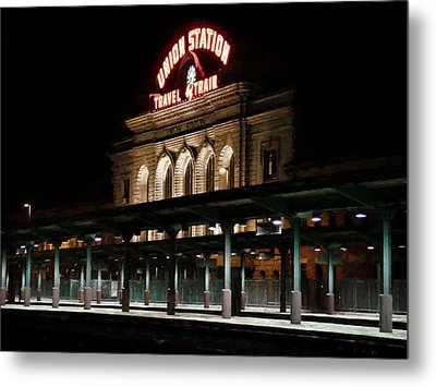 Union Station Denver Colorado Metal Print by Ken Smith