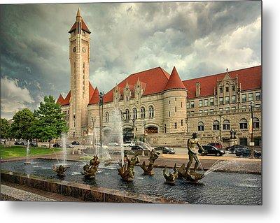 Union Station St Louis Color Dsc00422 Metal Print