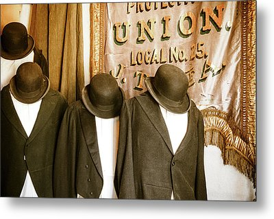 Union Vintage Clothing Metal Print by Steven Bateson