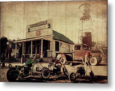 Metal Print featuring the photograph Unionville Genral Store by Joel Witmeyer