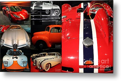 Metal Print featuring the photograph Unique And Eclectic Classic Cars Fine Art And Photography Wall Art Home And Office Decor by Wingsdomain Art and Photography