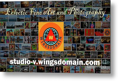 Metal Print featuring the photograph Unique And Eclectic Fine Art And Photography Wall Art Home And Office Decor by Wingsdomain Art and Photography