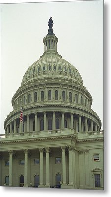 United States Capitol Building 3 Metal Print by Frank Romeo