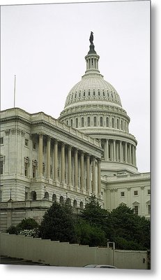 United States Capitol Building 4 Metal Print by Frank Romeo