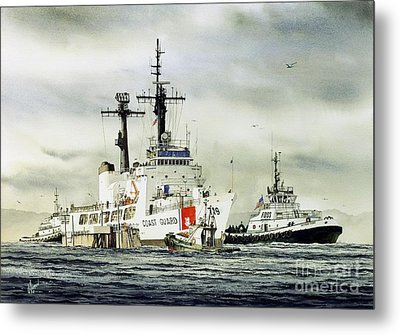 United States Coast Guard Boutwell Metal Print