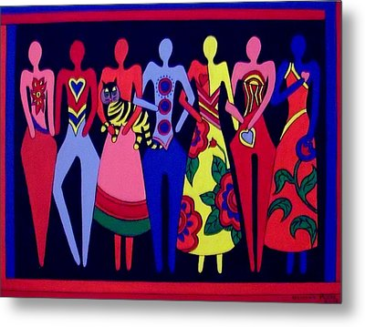Unity 1 Metal Print by Stephanie Moore