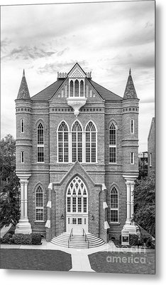 University Of Alabama Clark Hall Metal Print by University Icons