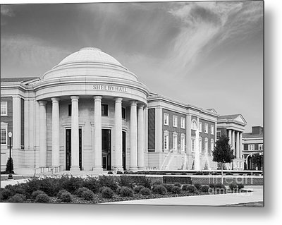 University Of Alabama Shelby Hall Metal Print by University Icons