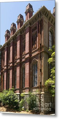 University Of California Berkeley Historic South Hall Dsc4049 Metal Print by Wingsdomain Art and Photography