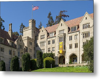 University Of California Berkeley Historical Bowles Hall College Dormatory Dsc4759 Metal Print by Wingsdomain Art and Photography